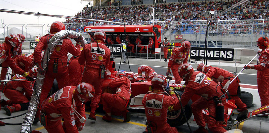Barrichello staying on the pace