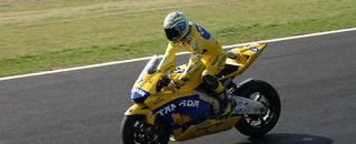 MotoGP Tamada wins Japanese GP