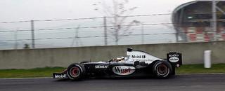 Formula 1 De la Rosa fastest at Jerez