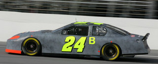 NASCAR Cup Jeff Gordon out front at Daytona testing