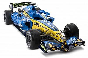 Formula 1 Nostalji Tarihte bugün: Renault yeni RS26'yı tanıtıyor