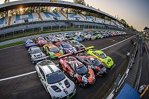 Blancpain Endurance Новость Pirelli изобразила свой логотип из 41 машины GT3