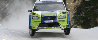 WRC Gronholm earns the 50th win for Ford in Sweden
