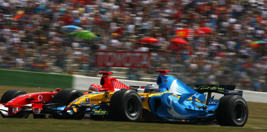 Schumacher charged up for title attack