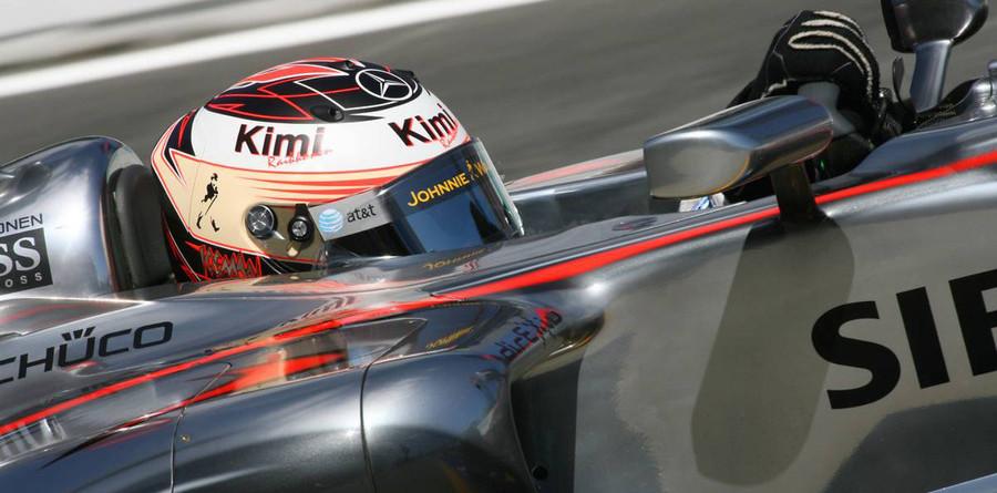 Raikkonen top in Brazilian GP first practice
