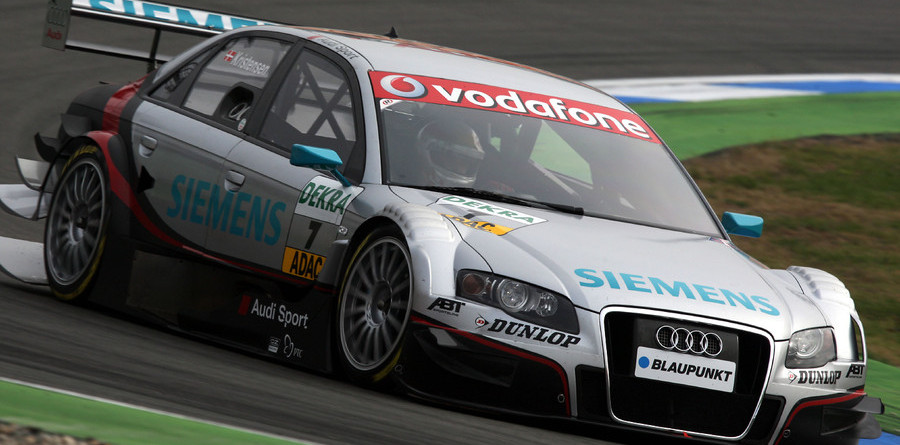 Audi claims front row for Hockenheim finale