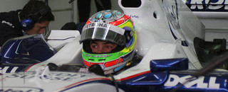 Formula 1 Farfus, Vietoris test BMW Sauber at Valencia