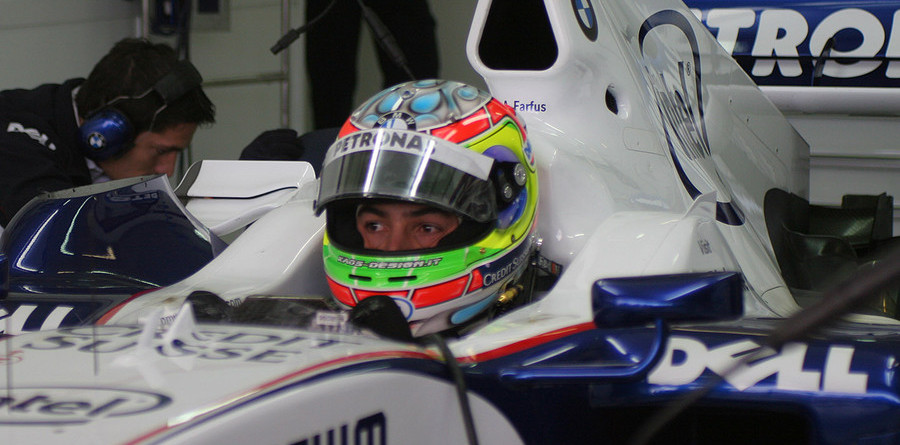 Farfus, Vietoris test BMW Sauber at Valencia