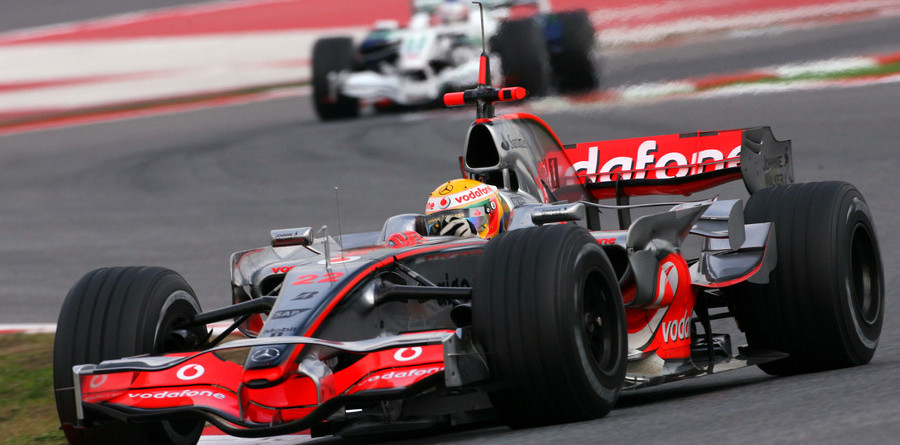 Temperatures cool times in Barcelona testing
