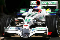 Slick Barrichello tops Barcelona test