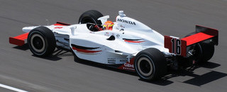 IndyCar Lloyd tops speed charts for Indy 500 rookies