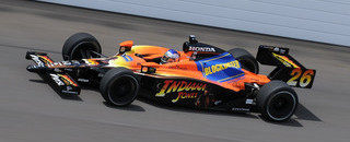IndyCar Marco Andretti tops 226 in first Indy practice