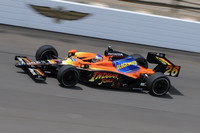 Marco Andretti tops 226 in first Indy practice
