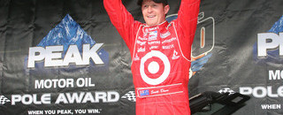 IndyCar Dixon earns his first Indy 500 pole