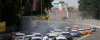 DTM Green edges Spengler at Norisring