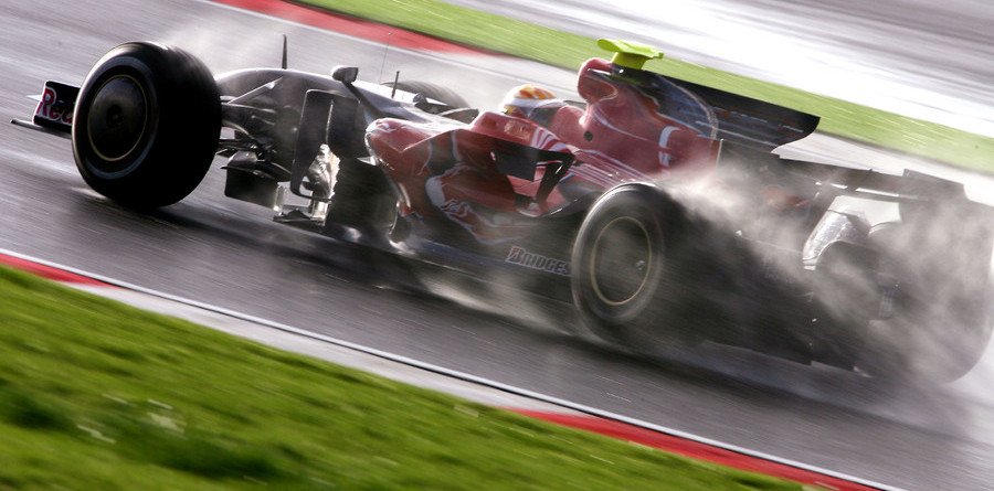 Hail to the F1 test in Portugal