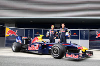 Red Bull shows off new RB5 prior to Jerez test days