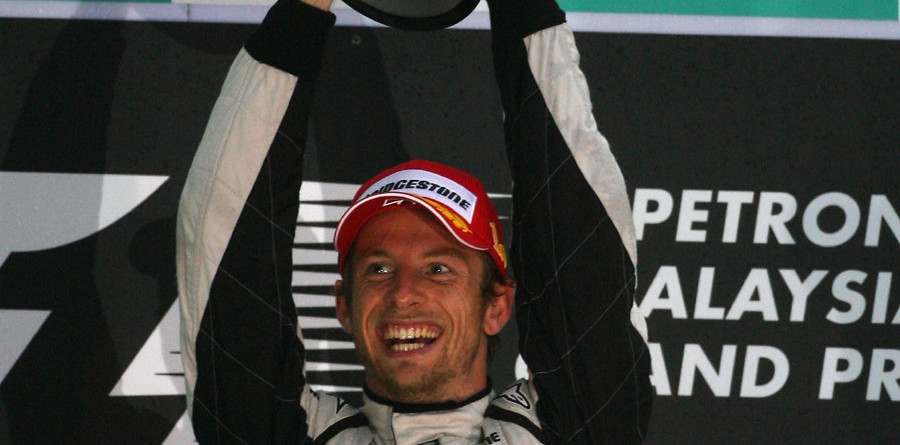 Button wins red-flagged Malaysian GP