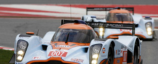European Le Mans Aston Martin team takes first win at Barcelona