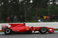 Alonso wins Friday rain dance at Hockenheimring