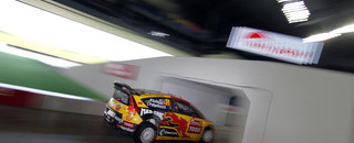 WRC Petter Solberg edges into Rally Japan early lead