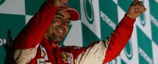Formula 1 Alonso wins inaugural Korean GP in the rain
