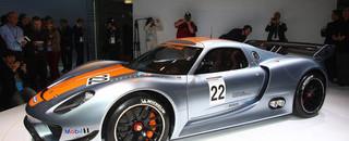 ALMS Ingram's Flat Spot On: Porsche's new race car