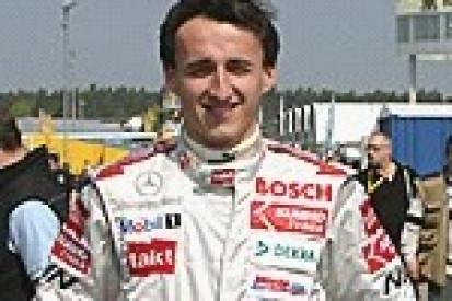 Kubica siódmy w niedzielnym wyścigu F3 ES.