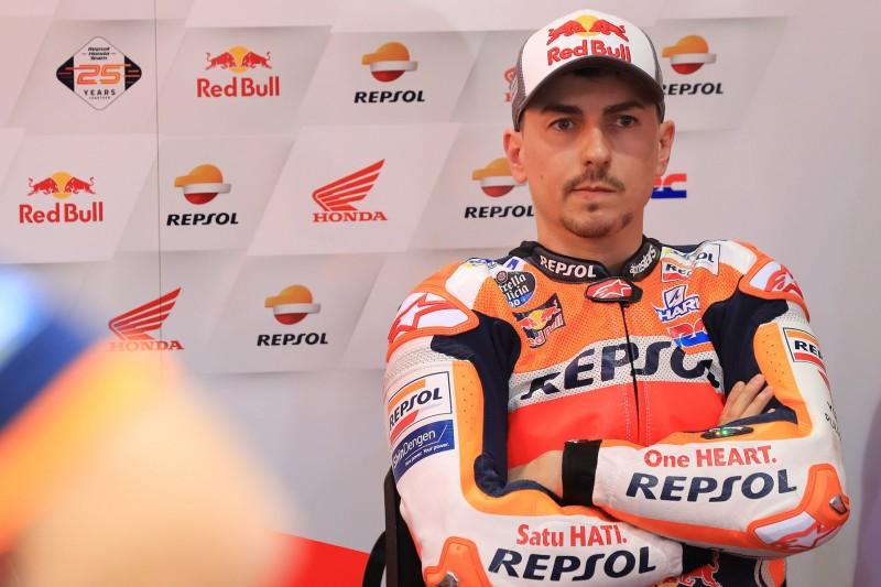 Lorenzos Honda-Debüt mit Schmerzen: Rennen wird