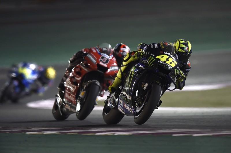 Valentino Rossi trotz Aufholjagd in Katar mit Sorgenfalten