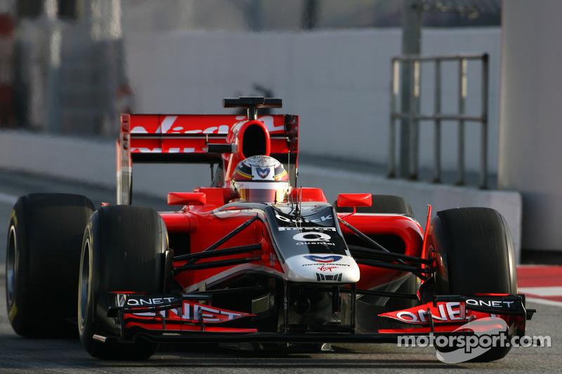 Virgin Barcelona test report 2011-03-11