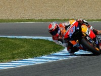 Honda riders set early pace at Jerez