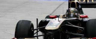 Formula 1 Lotus Renault Qualifying Report
