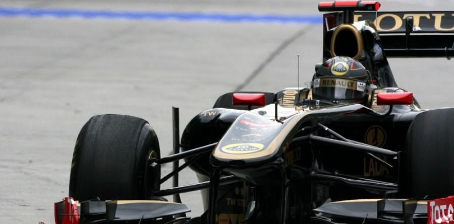 Lotus Renault Qualifying Report