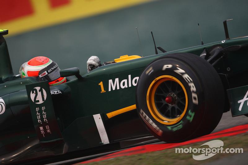 Team Lotus Qualifying Report