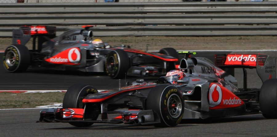 Post-China Q&As with Jenson Button