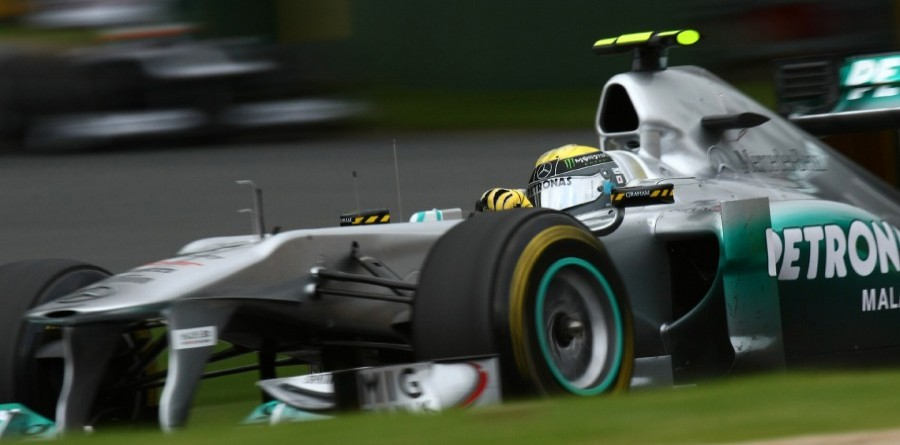 Rosberg eats cheeseburger and plots Mercedes victory