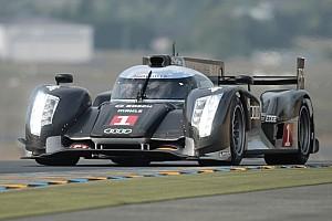 Le Mans Audi on unique R18 TDI engine