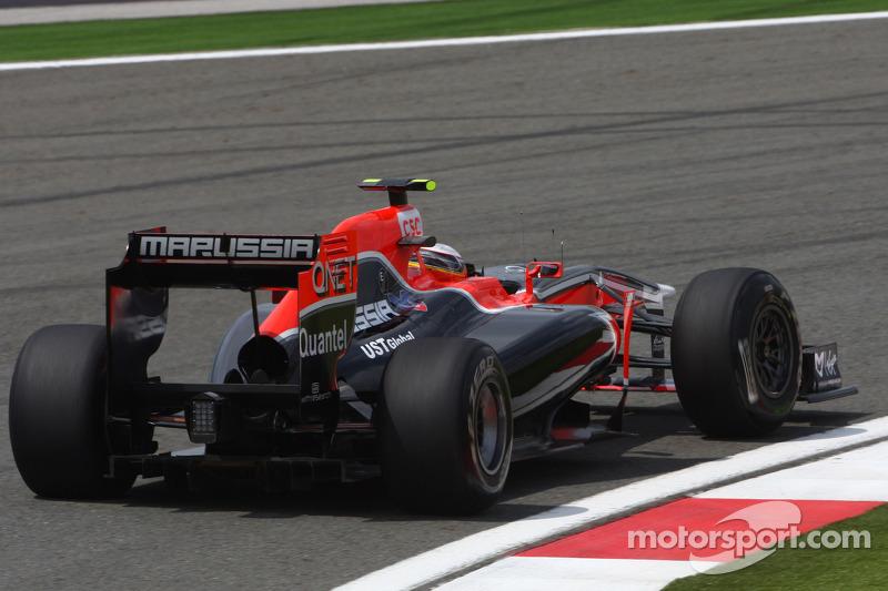 Turkish GP Marussia Virgin Friday Practice Report
