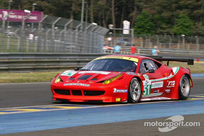 Ferrari Spa Race Report