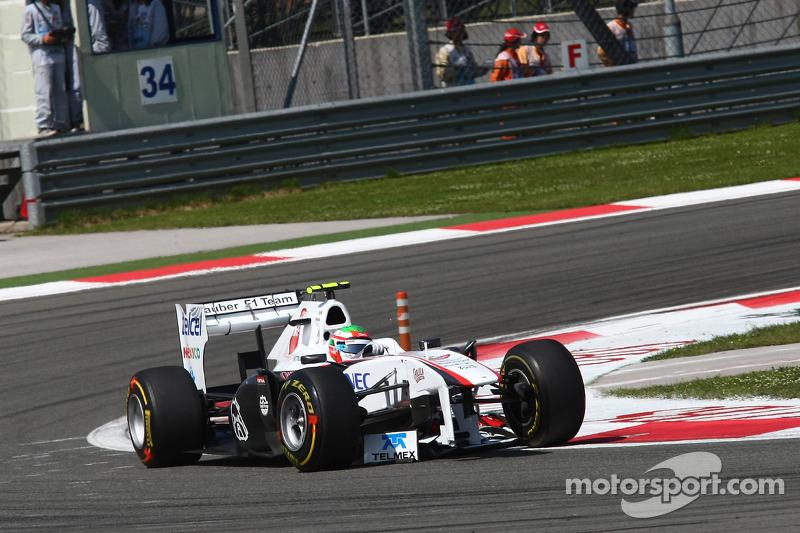 Turkish GP Sauber Race Report