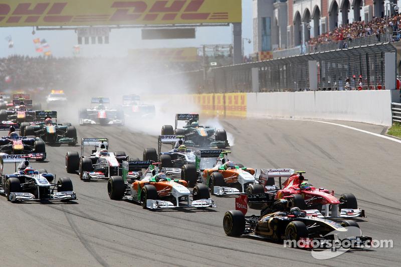 Turkish GP Lotus Renault Race Report