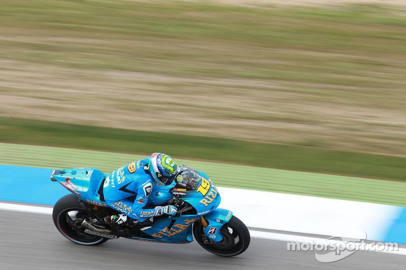 Suzuki Fench GP Friday Report