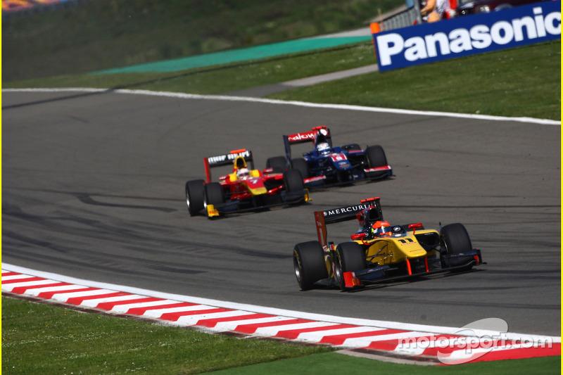GP2 Series Barcelona Practice Report