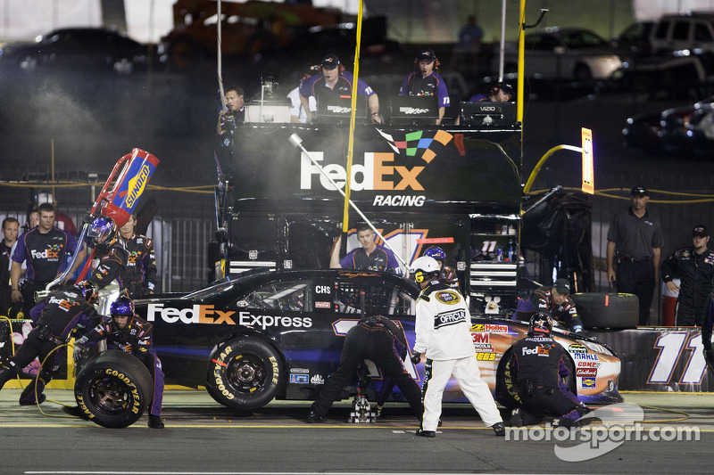 Denny Hamlin Geared Up For Charlotte 600