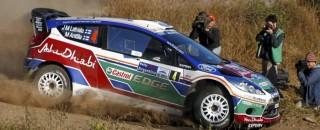 WRC Latvala Blazes Into Early Rally Argentina Lead
