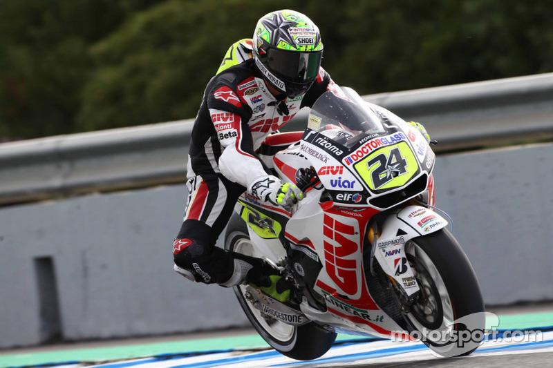 LCR Honda Catalunya GP Friday Report