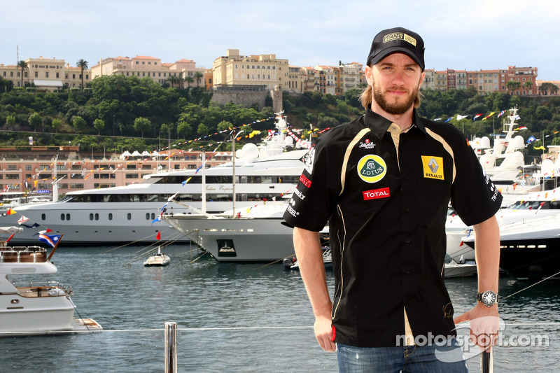 Lotus Renault Q&A with Nick Heidfeld