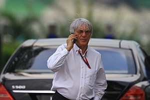 Formula 1 Bahrain in 2011 'of course not on' - Ecclestone