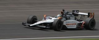 IndyCar Tagliani Wrangles Texas IndyCar Pole
